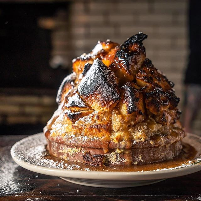 Our bread pudding at Antique Bar and Bakery hits all the spots!