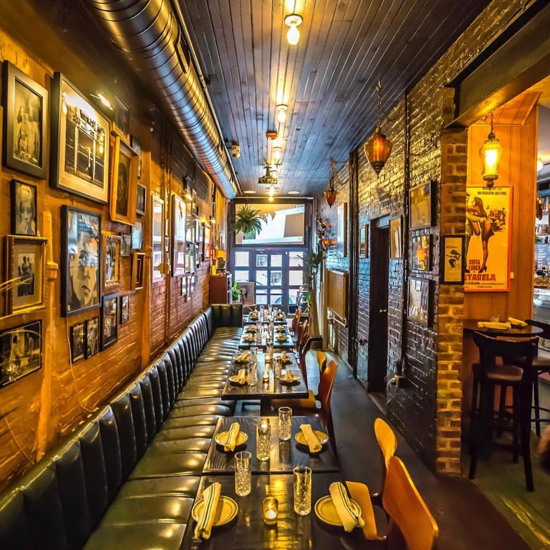 Lets have dinner together as a family- join us at Antique Bar and Bakery in Hoboken