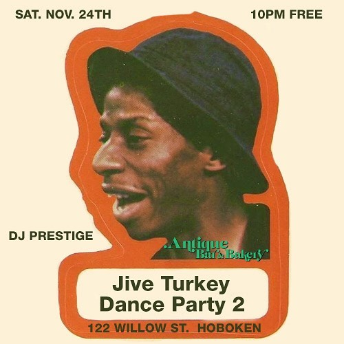 Last Weekend! Jive Turkey Party!