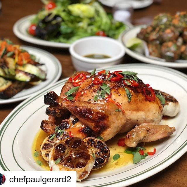 I call it Food Chicken Food that is Chef Paul Gerard Antique Bar and Bakery