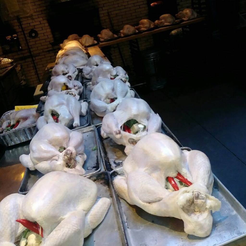 40 birds, all turned out PERFECT! Thanks to the Antique Bar and Bakery family!