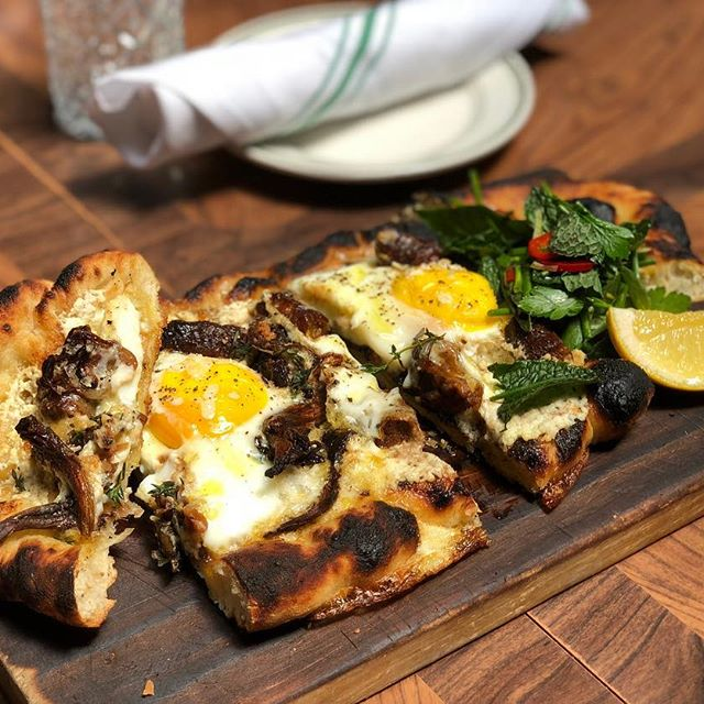 Organic Egg Flatbread For The Families