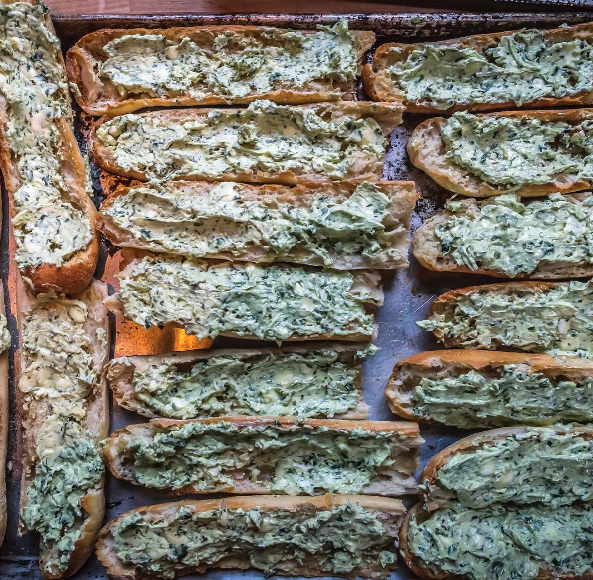 Grab Some Amazing Garlic Bread From Chef Paul Gerard At Ethyls Alcohol And Food