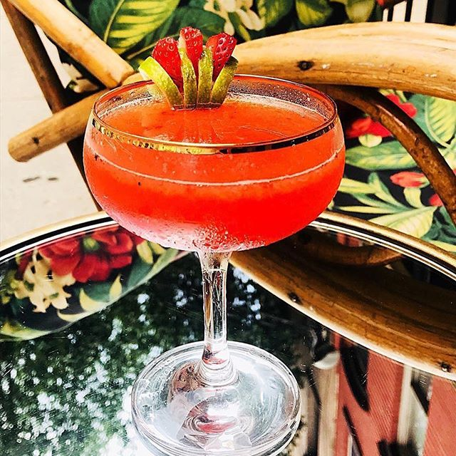 New cocktails on the horizon for spring, keep the fire burning at Antique Bar and Bakery!