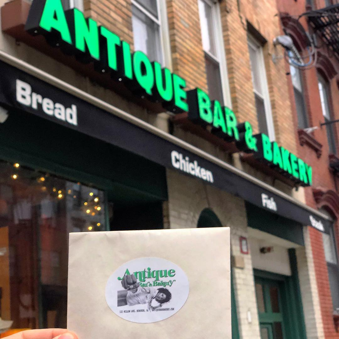 Best eats and voted best craft cocktail in Hoboken! Antique Bar and Bakery