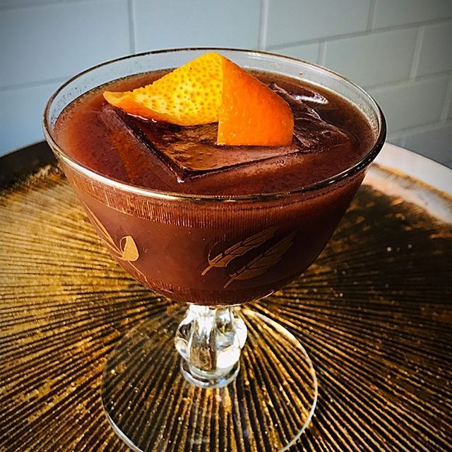 Rami's Rhapsody! Get on top of this new Craft Cocktail from Antique Bar and Bakery!