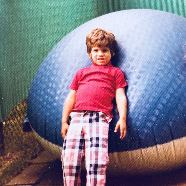 It takes big balls to wear pants like these, happy birthday Joe! - Antique Bar and Bakery
