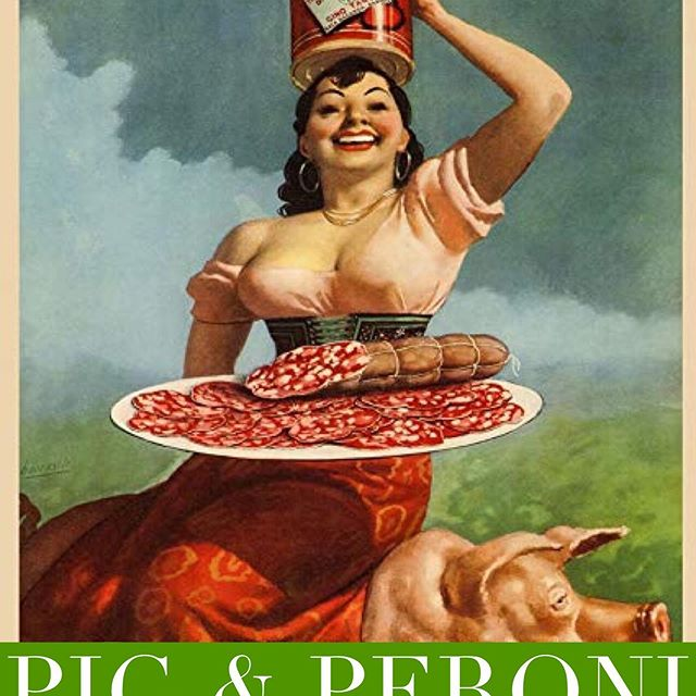 Pig and Peroni, come on by tonight to get your BBQ with Antique Bar and Bakery!
