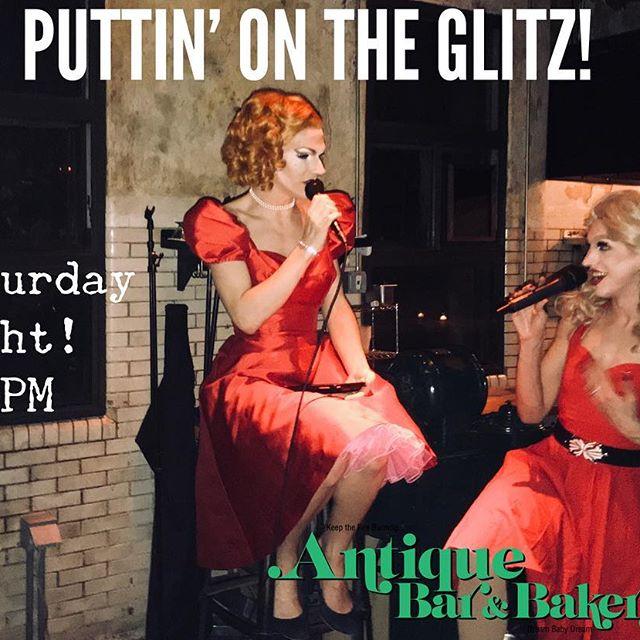 Puttin' on the Glitz, TONIGHT!