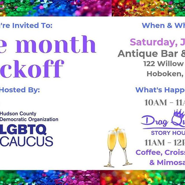 Drag Queen Story Hour at Antique Bar and Bakery this Saturday!