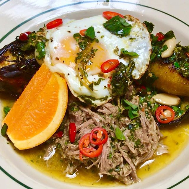 Boricua Breakfast, a staple of Puerto Rico and Antique Bar and Bakery!