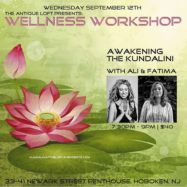 Join Us For The Wellness Workshop September 12th!