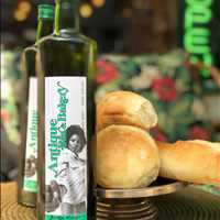 Good vibes and great olive oil at Antique Bar and Bakery!