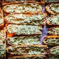 Killer Bread makes KILLER garlic bread, call in for catering from Antique Bar and Bakery