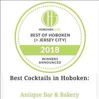 Best cocktails in Hoboken, voted by the people! Antique Bar and Bakery