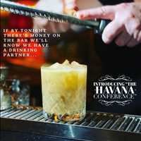 The Havana craft cocktail from Antique Bar and Bakery, home of the BEST cocktails in Hoboken!
