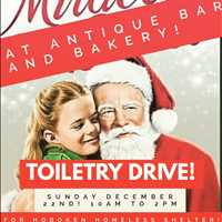 THIS SUNDAY AT ANTIQUE, a Hoboken toiletry drive for the needy! - Chef Paul Gerard