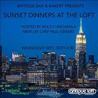 Catch the sunset on the top of the Antique Loft, make your reservations today!