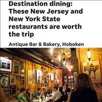 Antique Bar and Bakery is a MUST stop dine in destination in NJ, come eat with us!