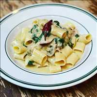 Rabbit Ragu on the up and up, try it for yourself at Antique Bar and Bakery  - feel the FIRE
