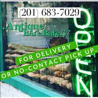Update, we're still open for delivery at Antique Bar and Bakery!