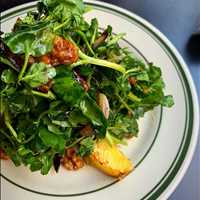 Roasted Squash and watercress