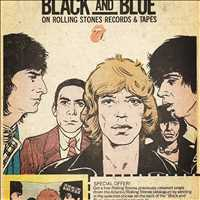 Black and Blue those Rolling Stones, classic. Listen in at Antique Bar and Bakery