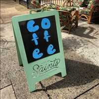 Coffee does the soul good, stop on by early morning for the coffee pop-up!