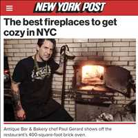 Come by to Antique Bar and Bakery for the best fire in Hoboken this winter, let the good times roll!