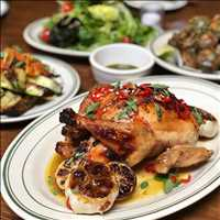 Organic chicken for the whole family, at Antique Bar and Bakery! #Thanksgiving