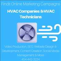 Findit HVAC Online Marketing Campaigns Improve Exposure Online 404-443-3224