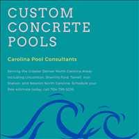 Lincolnton North Carolina Custom Concrete Pool Builder Carolina Pool Consultants 704-799-5236