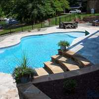 Lincolnton North Carolina Custom Inground Concrete Pool Installation from CPC Pools 704-799-5236