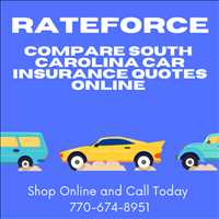 RateForce South Carolina Auto Insurance Rates Click To Compare Online 770-674-8951