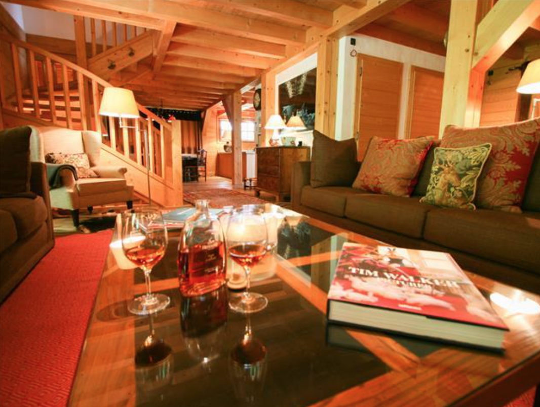 Chalet Conca Vacation Rental Located At Chemin du Giroux, St Gervais, 74190