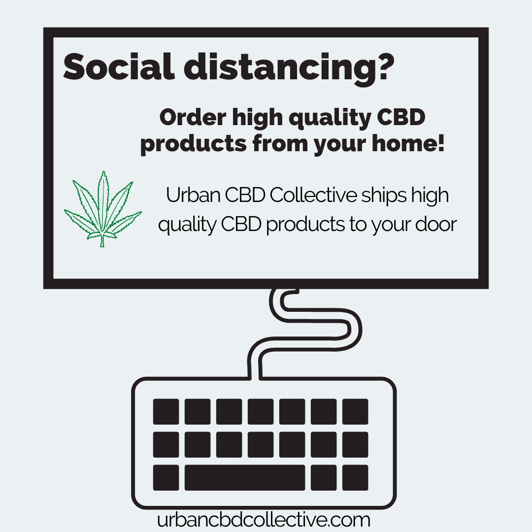 Order the best CBD oil And CBD topical from home from Urban CBD Collective