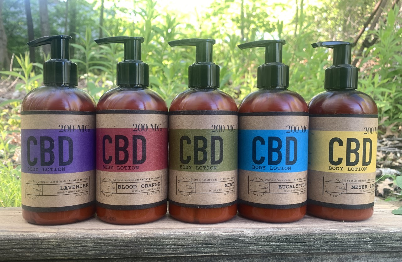 200 MG CBD topical lotion for sale from Urban CBD Collective