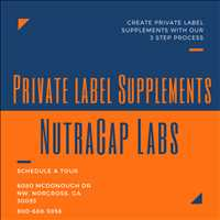 Private Label Custom Supplements NutraCap Labs 800-688-5956