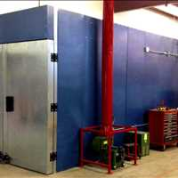 Custom Powder Coating Oven Booths and Ovens 877-647-1089 For Sale Equipment