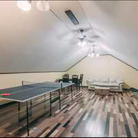 Perfect space for office, studio, or game room
