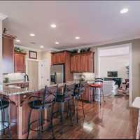 Kitchen nook and bar