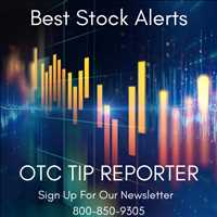 Top Stock Alerts On Top Emerging Growth Companies on Wall Street OTC Tip Reporter 800-850-9305
