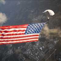 American Flag Skydive
