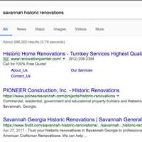 American Craftsman Renovations Indexing Second On Page 1 For Savannah Historic Renovations
