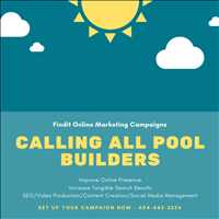 Custom Online Marketing Campaigns for Pool Builders Call Findit 404-443-3224