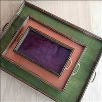 Mutual Adoration Reclaimed Wood Trays