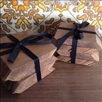 Mutual Adoration Reclaimed Wood Coasters