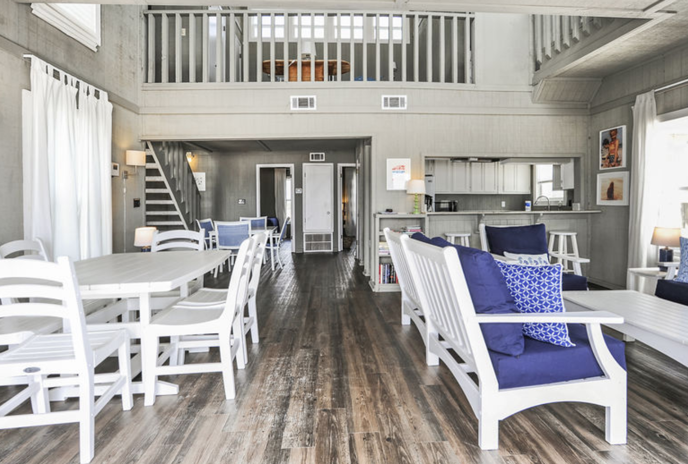 Living Space SeaHouse Vacation Rental Located At 1593 W Beach Blvd, Gulf Shores, Alabama, 36542