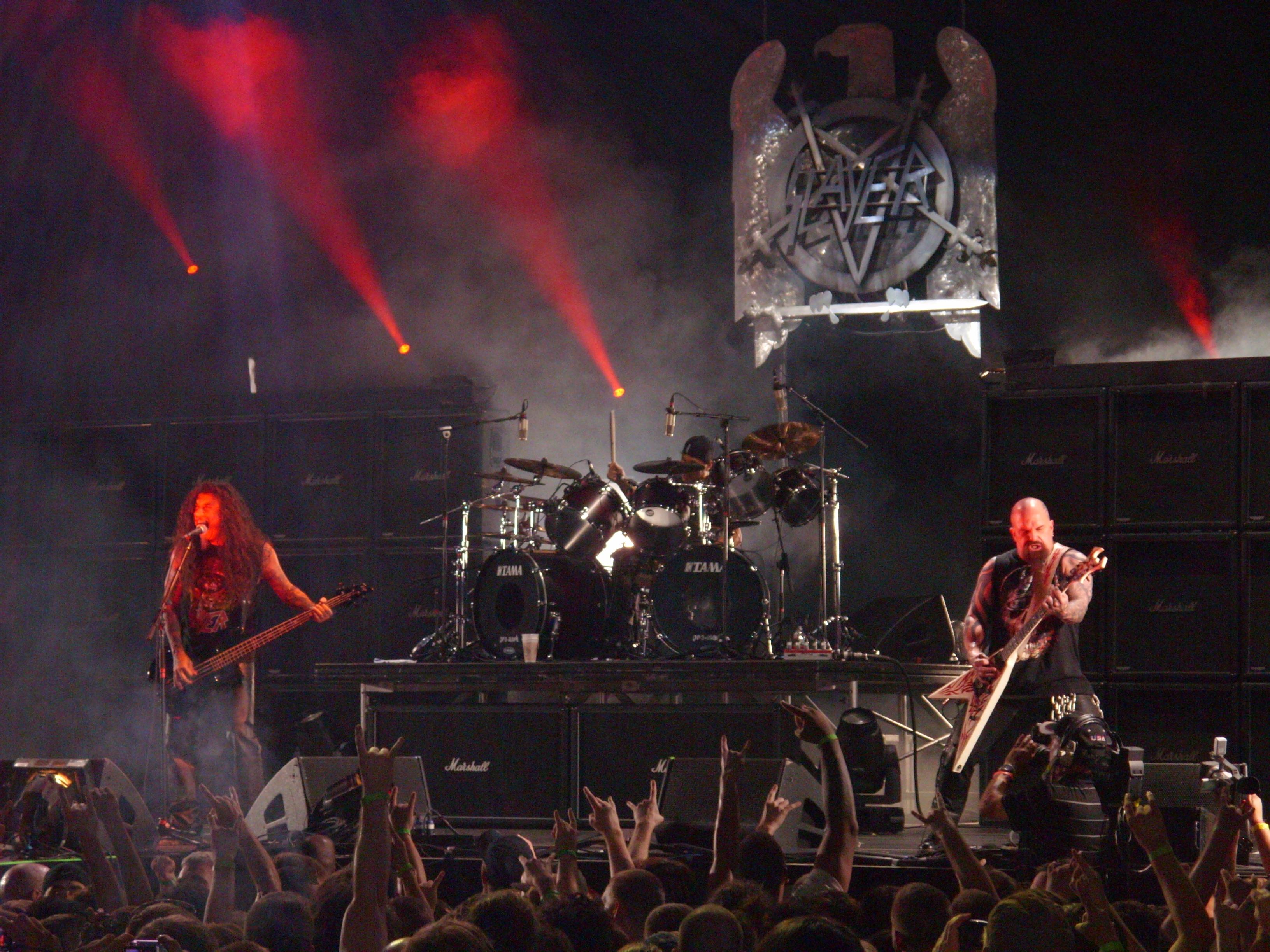 Slayer Mayhem Fest 2009