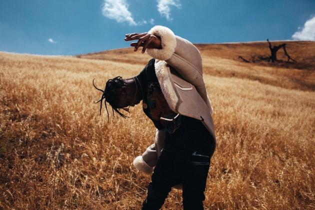 Travis Scott Desert Shoot